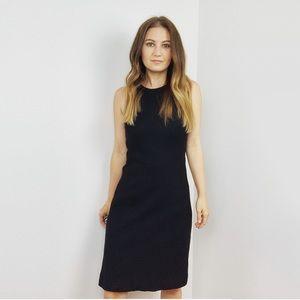 Theory Black Vaille Sleeveless Dress